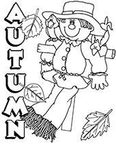 Autumn Coloring Pages Fall Topcoloringpages Net