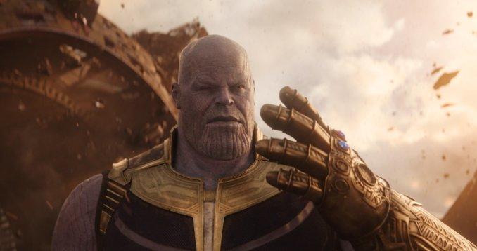 Thanos et son gant de l'infini