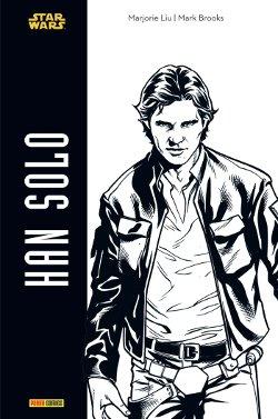 Han Solo noir et blanc chez Panini Comics