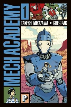 Mech Academy tome 1 couverture