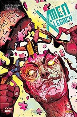 X-Men Legacy tome 1 aux éditions Panini