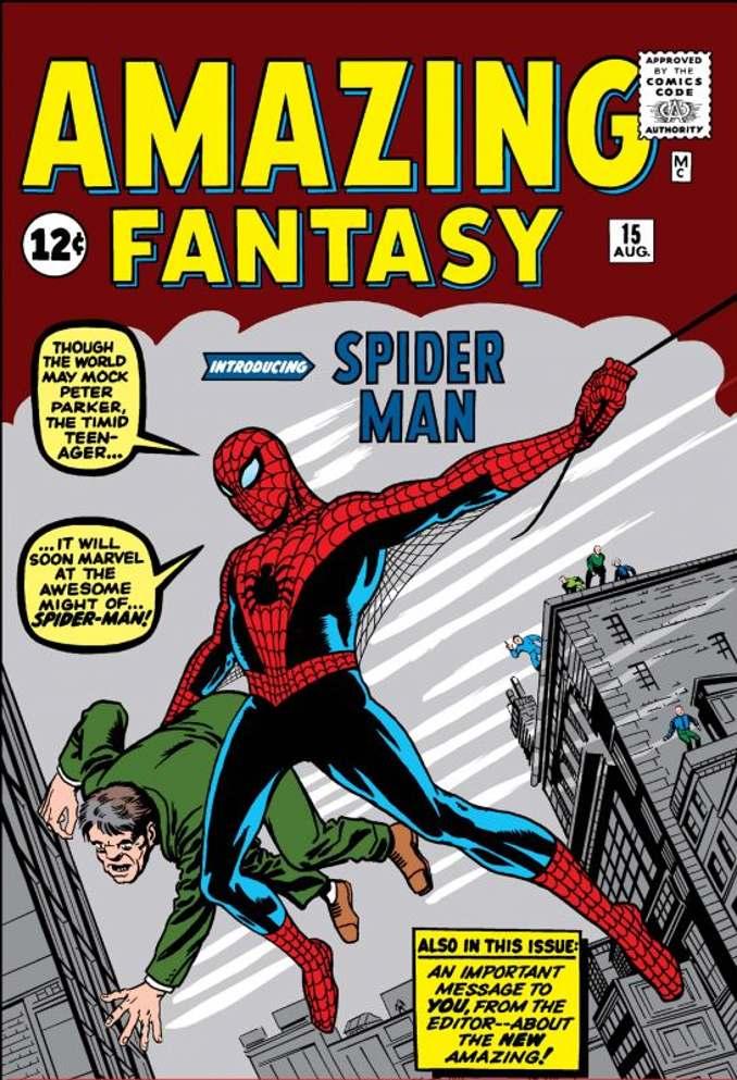 Comment Steve Ditko a cocréé Spider-Man ?