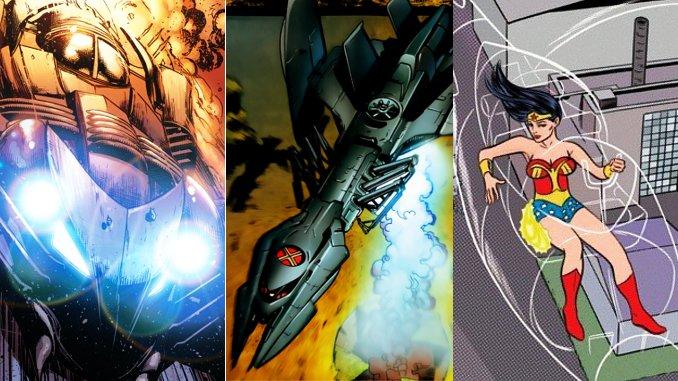 7 véhicules de super-héros totalement hallucinants !