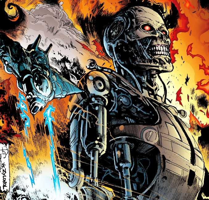 comics terminator suicide run