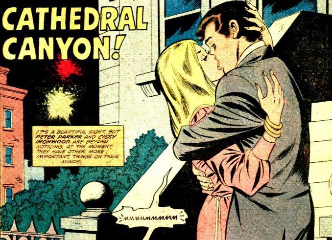 la vie sexuelle des superhéros spider-man cissy ironwood
