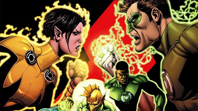 green lantern rebirth tome 4 avis