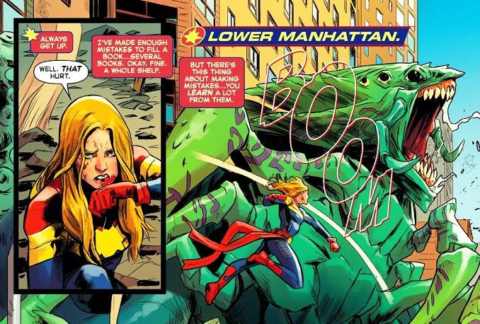 pouvoirs Captain Marvel