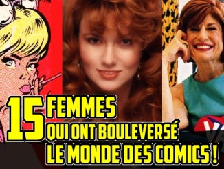 femmes qui ont marqué l'histoire des comics