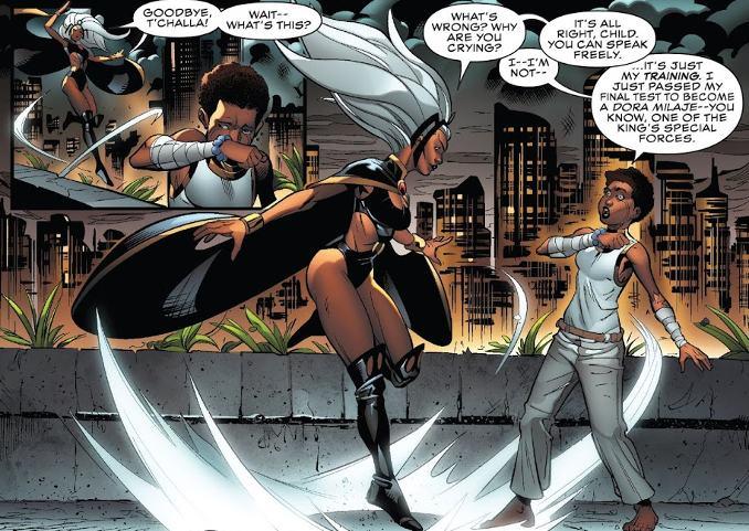 Black Panther Dora Milaje
