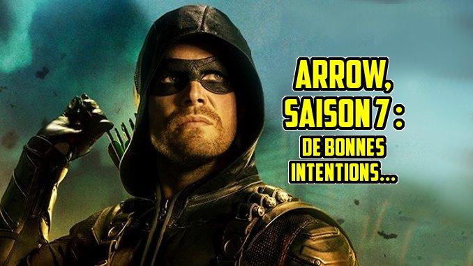 arrow saison 7 netflix