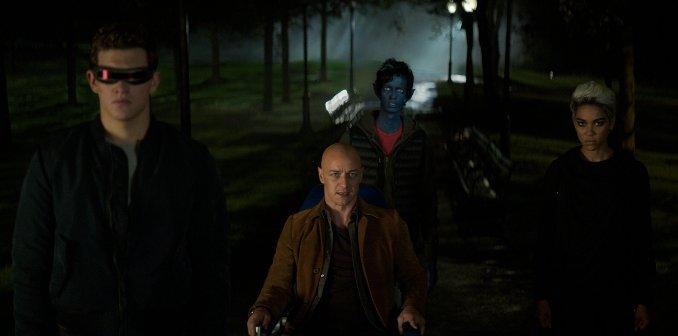 X-Men Dark Phoenix Charles Xavier Cyclope Diablo Tornade