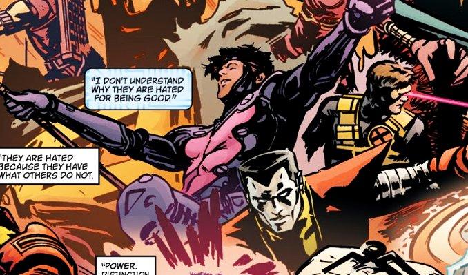 Earth-X mort Gambit Remy Lebeau