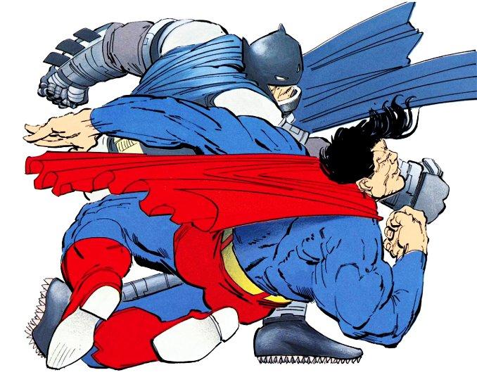 combat Batman Superman