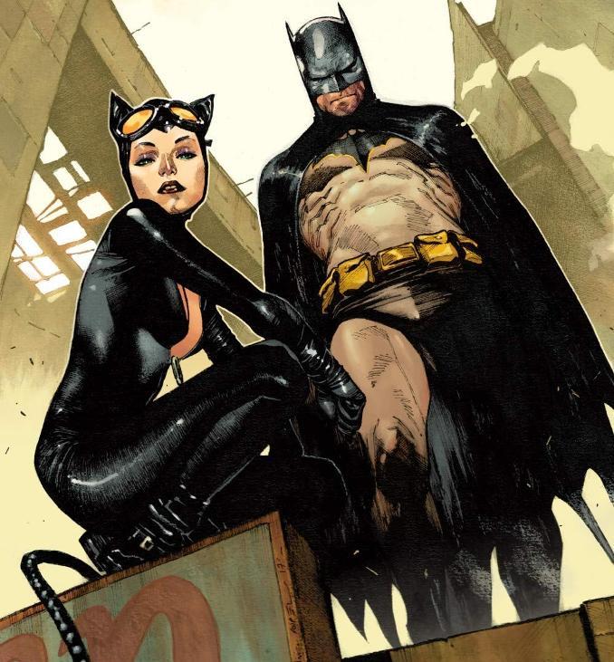 Batman Lee Weeks à la vie, à la mort Catwoman