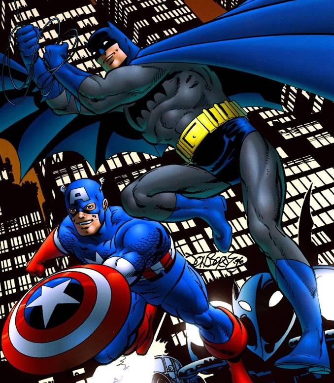 Batman captain america crossover