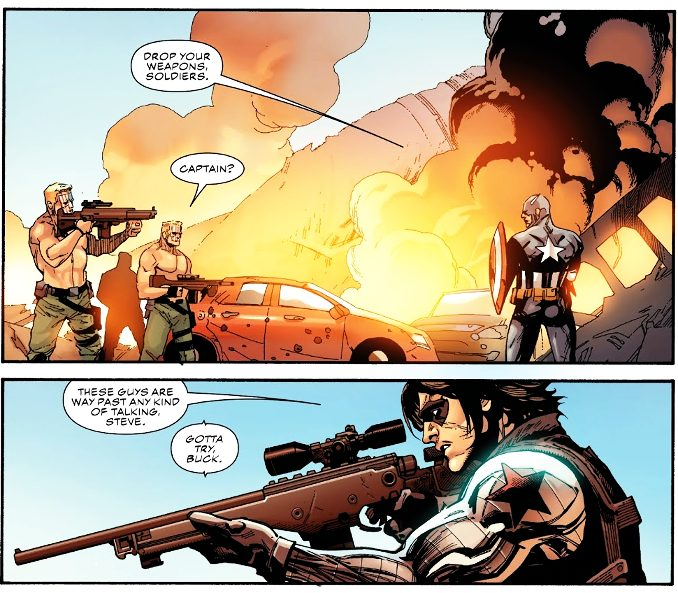 Captain America Winter in America
