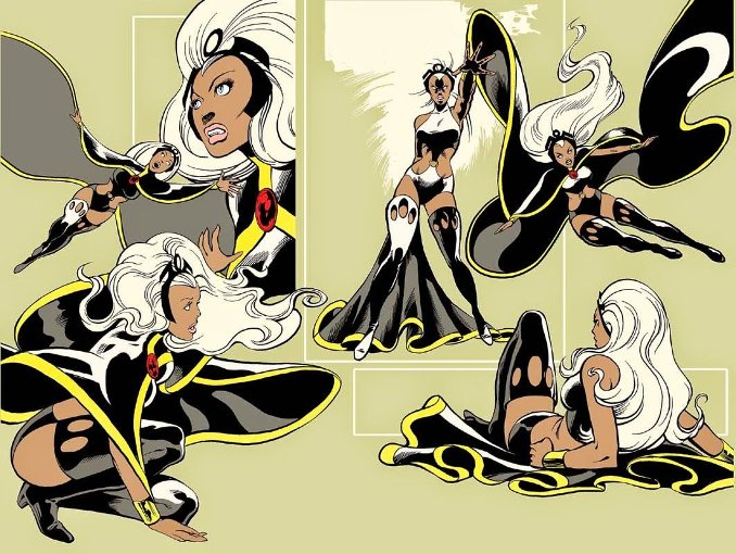 Tornade Ororo X-Men