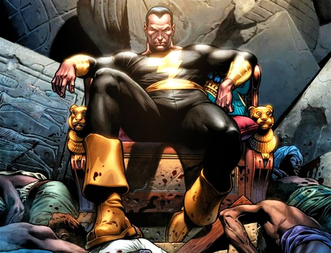 Black Adam rois DC Comics