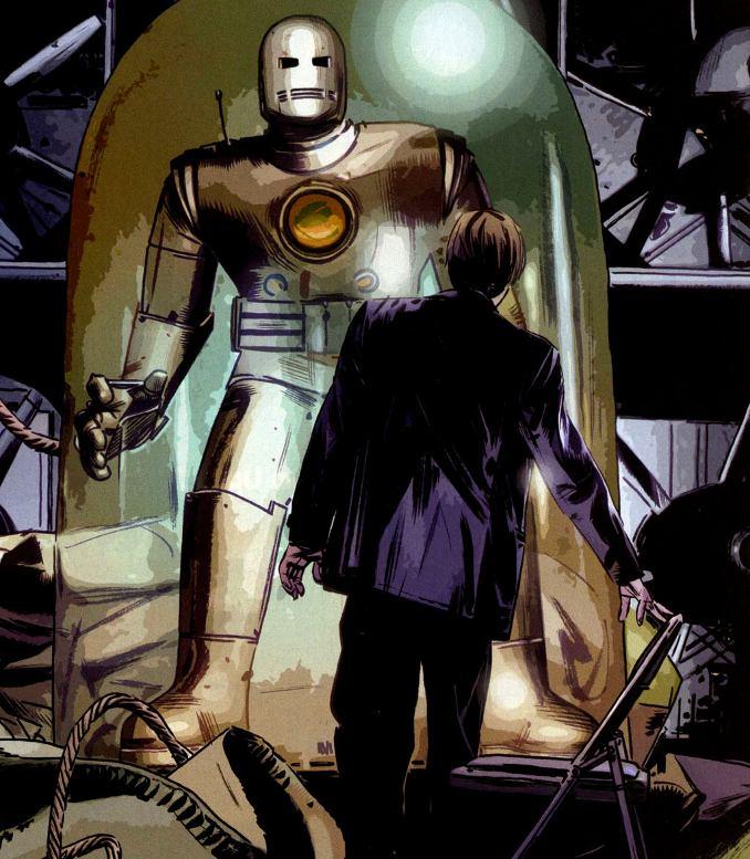 Iron Man armure porteur