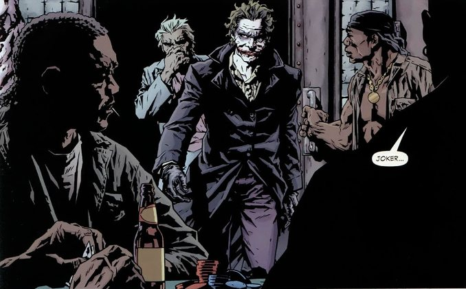 joker lee bermejo brian azzarello gang