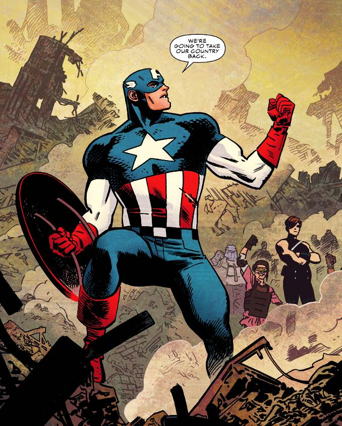 héros importants Captain America