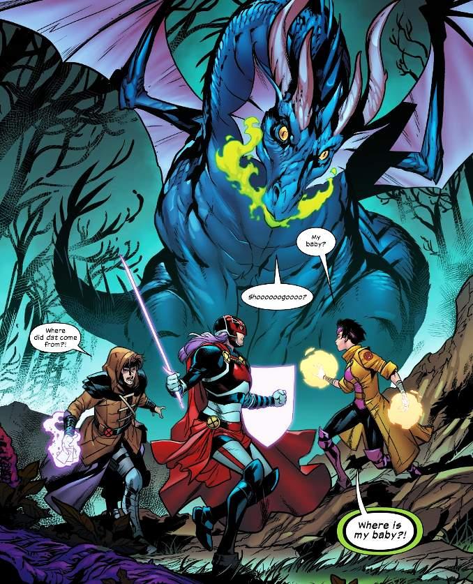 Excalibur 2 dragon
