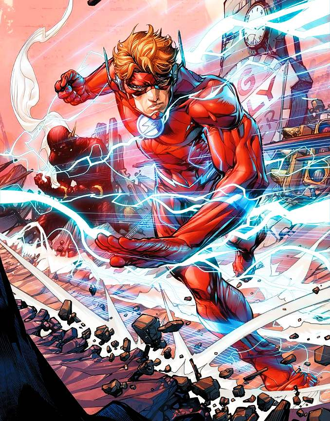 flash Wally west