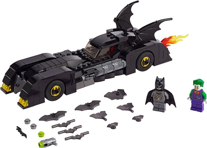 batmobile lego detail