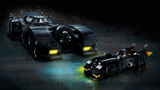 batmobile lego budget