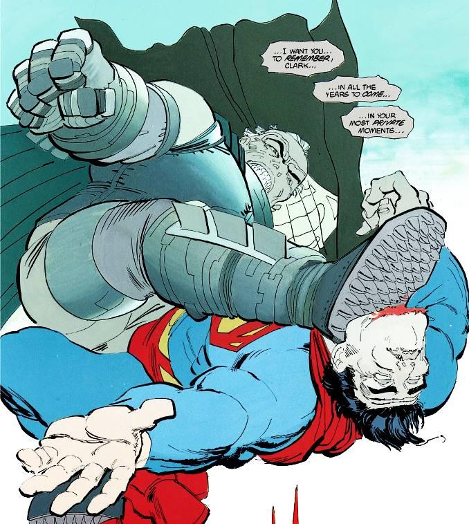 superman vaincu batman