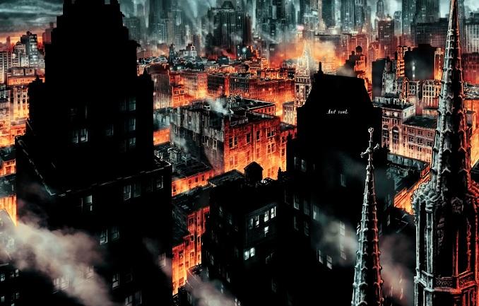 Batman Damned Gotham City enfer