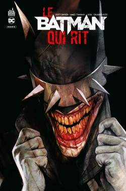 batman qui rit couverture