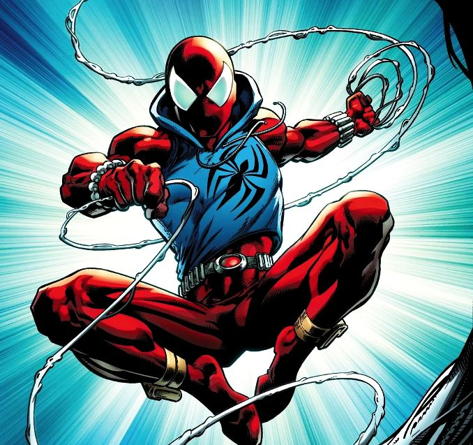 personnages Marvel préférés scarlet spider