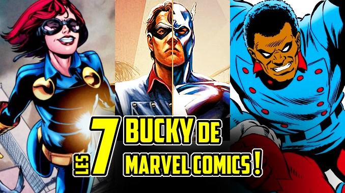 bucky Marvel