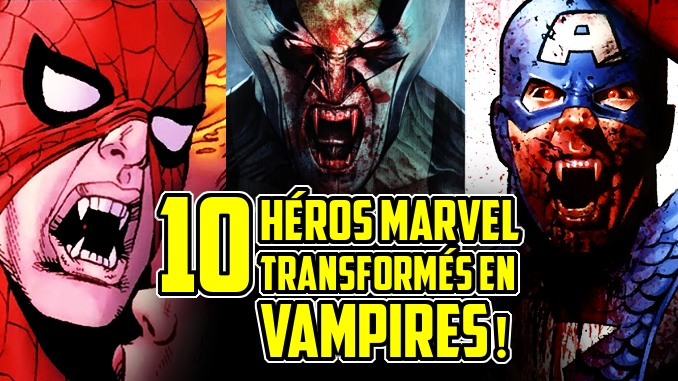 héros Marvel vampires