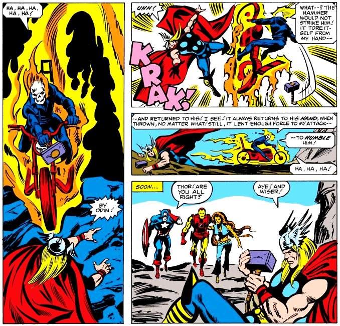 Thor vaincu