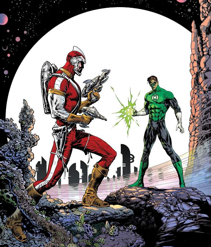 héros DC comics sous-estimés adam strange