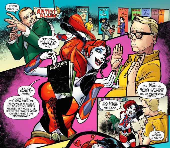 secrets Harley Quinn rencontre Paul dini bruce timm