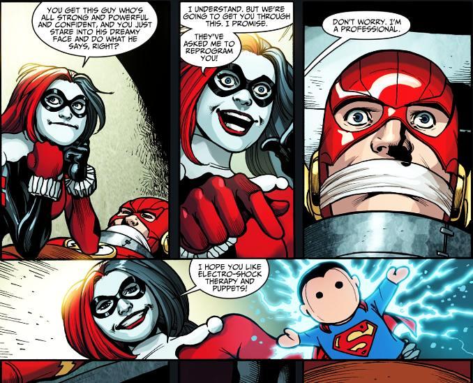 secrets Harley Quinn torture flash