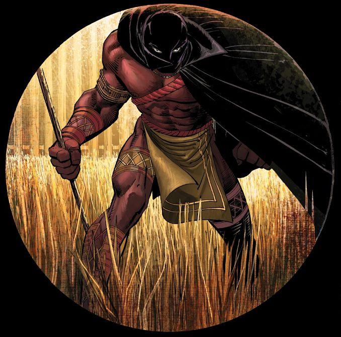 Panthère noire black panther