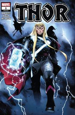 Thor 1 Donny Cates couverture