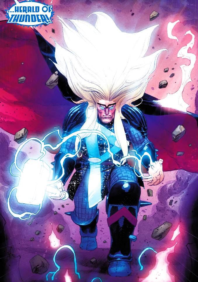 Thor 1 Donny Cates heraut de galactus