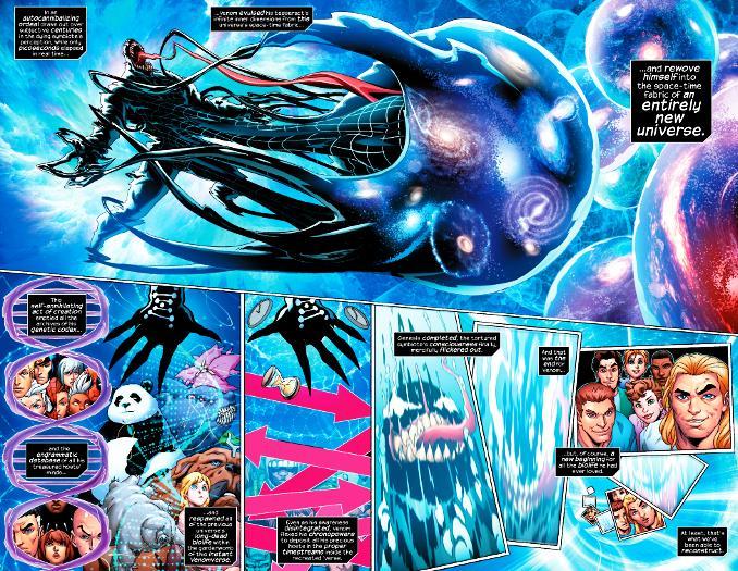 Venom the end terre