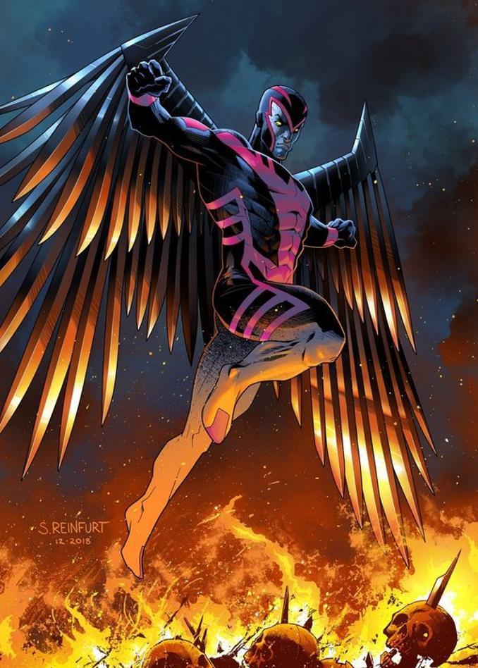 superhéros pouvoirs améliorés marvel dc archangel