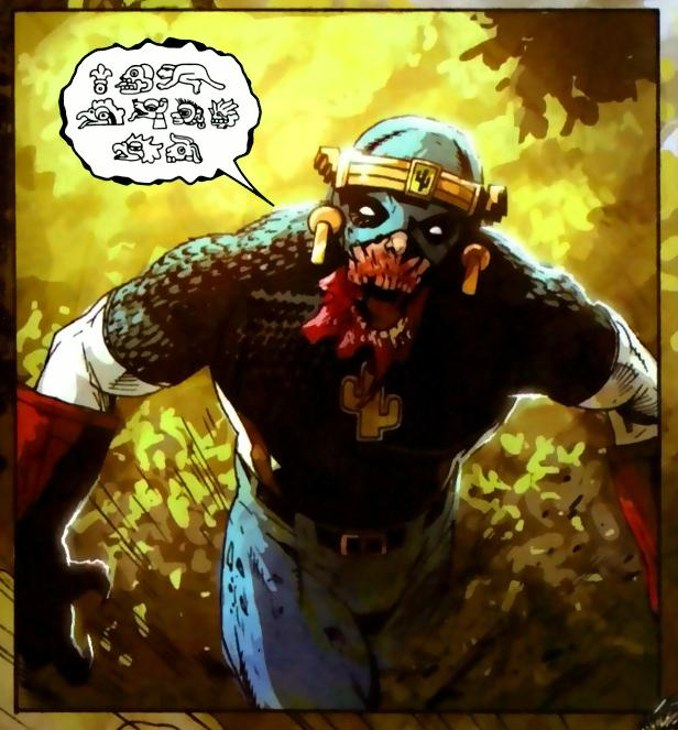 what if Captain America Captain Mexica
