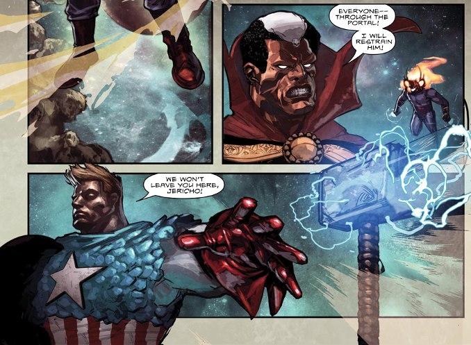 what if Captain America Captain Mjolnir