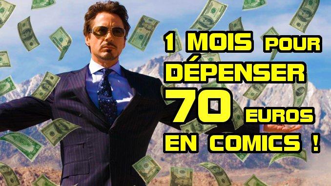 sélection budget comics 70 euros février 2020