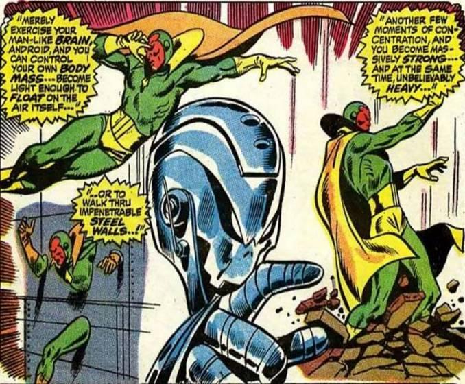Robots Marvel Comics Vision