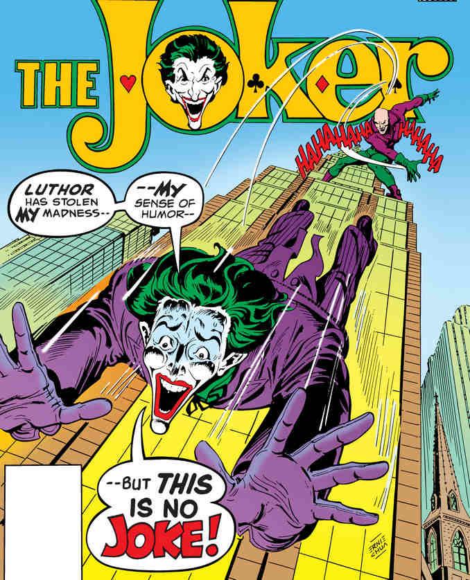 Combat aérien entre le Joker et Lex Luthor