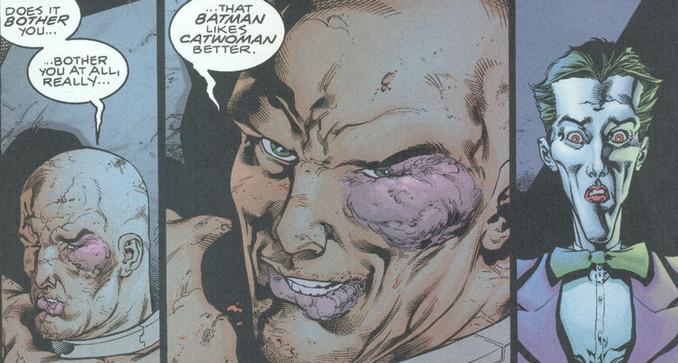 Torture mutuelle entre le joker et Lex Luthor